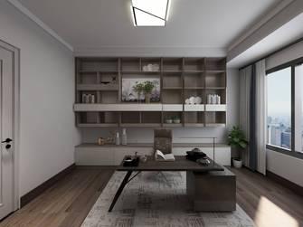140平米四现代简约风格书房图片