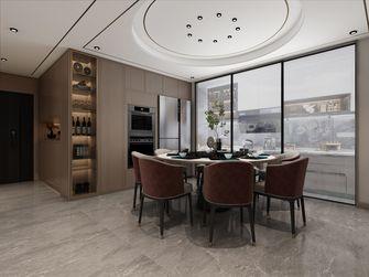 富裕型140平米三室三厅中式风格餐厅装修案例