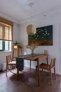 3-5万50平米小户型北欧风格餐厅欣赏图