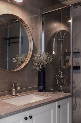 富裕型120平米三室两厅法式风格卫生间设计图