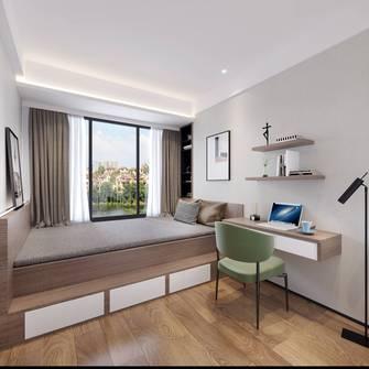富裕型140平米四室四厅现代简约风格青少年房装修案例