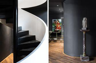 豪华型140平米三室两厅混搭风格楼梯间装修案例