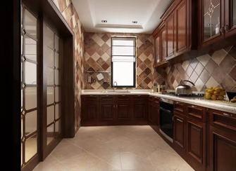 20万以上140平米四美式风格厨房图