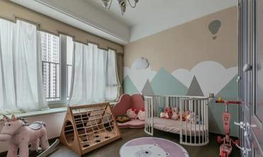 20万以上120平米三室一厅美式风格青少年房装修图片大全