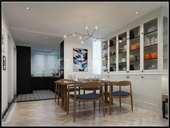 140平米别墅北欧风格餐厅图片