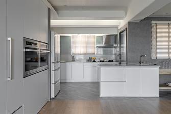 10-15万120平米三室两厅现代简约风格厨房图片大全