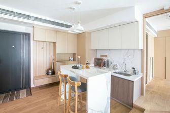 80平米三室一厅日式风格餐厅效果图