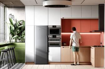 140平米三室两厅轻奢风格厨房图