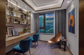 140平米四室一厅轻奢风格书房效果图