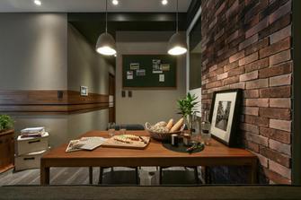 20万以上100平米三室两厅工业风风格餐厅效果图