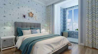 140平米三室两厅混搭风格青少年房装修图片大全