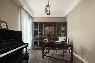 140平米四室一厅混搭风格书房图