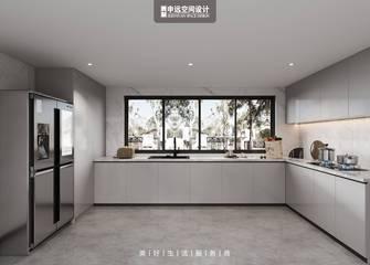 豪华型140平米别墅轻奢风格餐厅图片