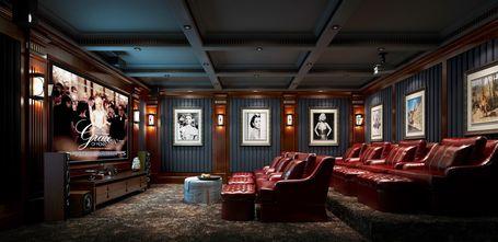 140平米别墅北欧风格影音室图片大全