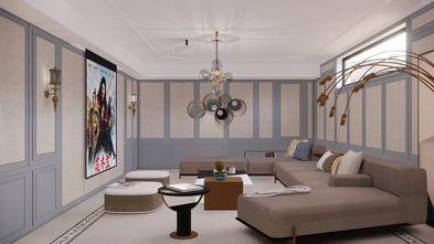 豪华型140平米四室三厅美式风格影音室图片
