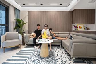 20万以上120平米三室两厅现代简约风格阳光房效果图