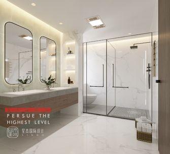 20万以上140平米别墅现代简约风格卫生间图片