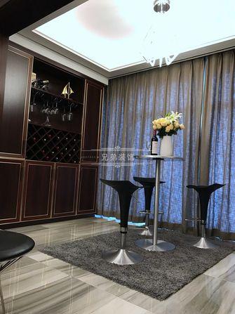 100平米三室两厅港式风格书房图片