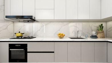 豪华型120平米一居室现代简约风格厨房图