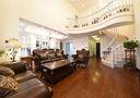 豪华型140平米复式美式风格客厅装修图片大全