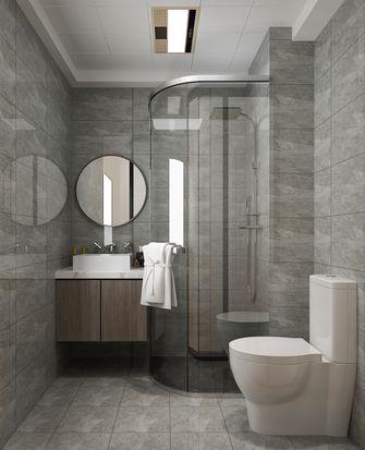 富裕型90平米三现代简约风格卫生间设计图