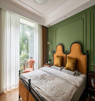 130平米三中式风格卧室装修案例