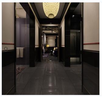 豪华型140平米别墅中式风格走廊欣赏图