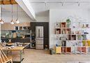 5-10万50平米一室一厅工业风风格餐厅图片