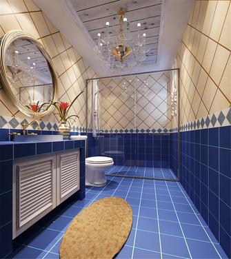 20万以上120平米三室两厅地中海风格卫生间图片