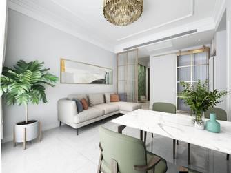 20万以上60平米一室一厅法式风格餐厅设计图