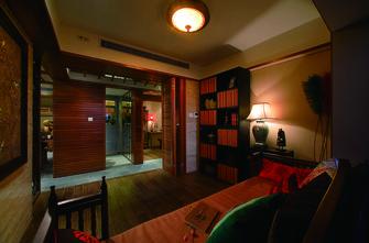 130平米三东南亚风格客厅欣赏图