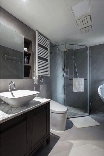 3万以下140平米三室一厅中式风格卫生间欣赏图