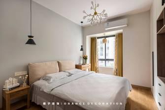 经济型110平米四室两厅北欧风格卧室效果图