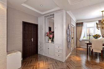 富裕型90平米三室两厅田园风格玄关效果图