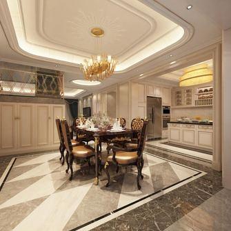 经济型120平米三室两厅欧式风格餐厅图