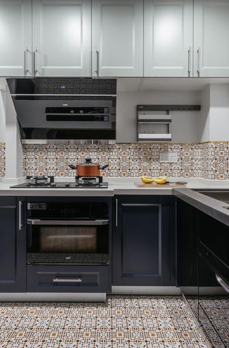 90平米三田园风格厨房设计图