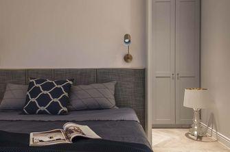 经济型80平米三室一厅美式风格卧室装修图片大全