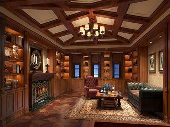 20万以上140平米别墅美式风格阁楼装修图片大全