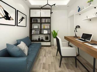 120平米四室两厅轻奢风格书房图片大全
