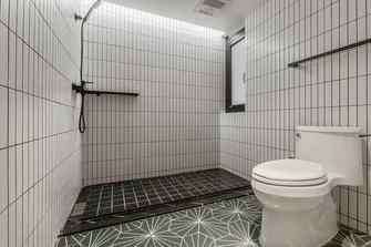 10-15万120平米三室两厅北欧风格卫生间效果图