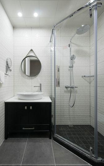 10-15万110平米三室一厅北欧风格卫生间装修效果图