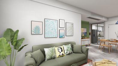 130平米北欧风格客厅装修图片大全