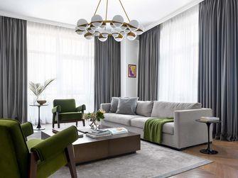 富裕型130平米四混搭风格客厅图片大全