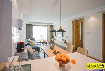 富裕型100平米三室一厅北欧风格客厅效果图