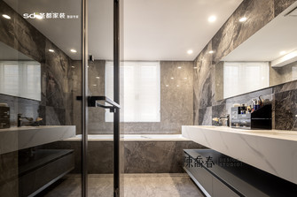 140平米三室两厅现代简约风格卫生间效果图