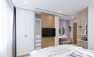 20万以上140平米三室三厅北欧风格卧室装修案例