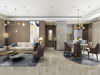 豪华型140平米四室两厅轻奢风格客厅装修图片大全