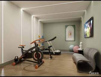 15-20万140平米四室两厅混搭风格健身房装修图片大全