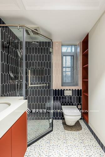 豪华型140平米三室两厅法式风格卫生间欣赏图