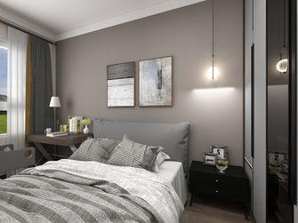 富裕型120平米三室两厅轻奢风格卧室效果图